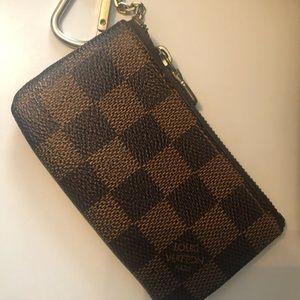 LV keychain wallet
